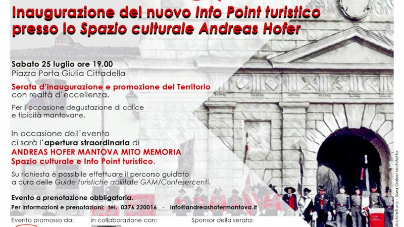 Porta Giulia ora è anche Info Point Turistico.