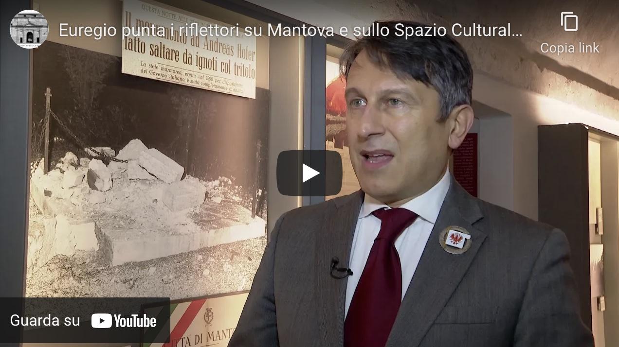 Euregio punta i riflettori su Mantova e sullo Spazio Culturale Hofer!